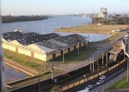 nova sede Saerrgs - Vista do Rio Guaíba