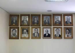 nova sede Saerrgs - mural de diretores