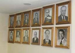 fotos mural escritório Saerrgs nova sede