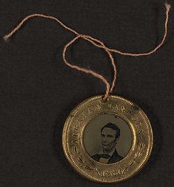 Lincoln Button 1860