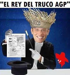 AGP le paga sólo a sus Amigos del Alma - Trampea para coger de Bobos a USA/Congreso