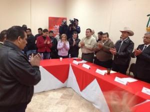 Toma de protesta de José Antonio Campa. Foto: Estado Mayor