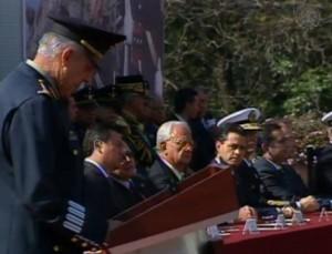 El presidente encabezó el Centenario de la Marcha de la Lealtad. Foto: Milenio
