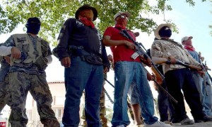 Autodefensa de Michoacán, Foto: Especial
