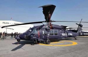El helicóptero Black Hawk. Foto: Especial