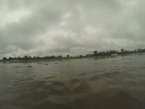 Se perdieron los cultivos. Sur Quintana Roo, 18 septiembre. Foto: Bruno Cárcamo.