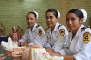Escuela Militar de Enfermería. Foto: Especial