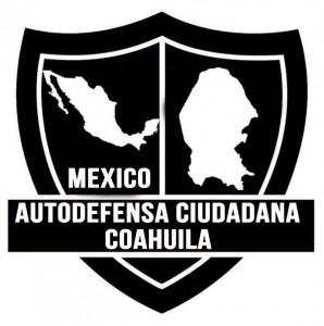 Escudo de la supuesta autodefensa surgida en Coahuila. Foto: Especial