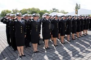 Gradación de Médico Navales. Foto: Semar