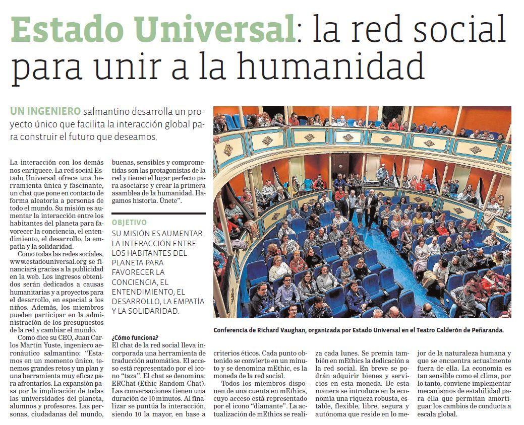 Somos la Red Social para unir a la humanidad
