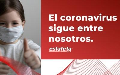 El Coronavirus sigue entre nosotros, sigamos cuidándonos
