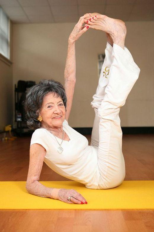 El Yoga te da flexibilidad, como en tu infancia