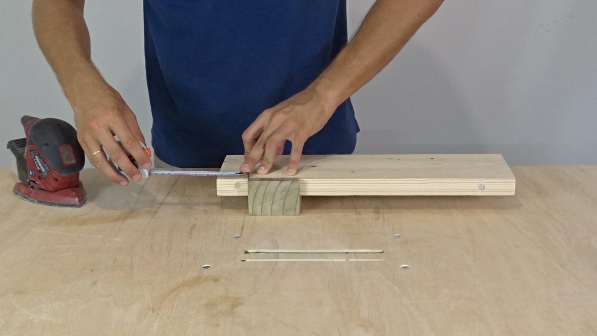 Como hacer un toallero de madera   DIY towel holder 8