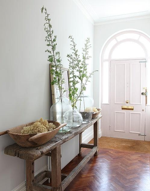 Puerta de entrada de estilo clásico