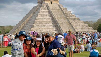 Foto de Hoy se reactivaron las zonas arqueológicas de Chichén Itzá y Dzibilchaltún
