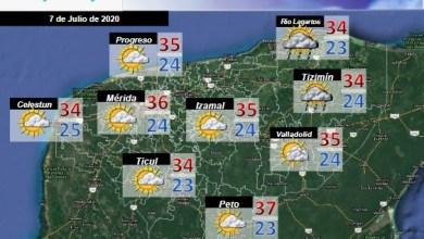 Foto de Pronóstico del tiempo en Yucatán para el martes 07 de julio