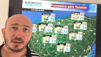 Foto de Pronóstico del tiempo y para la navegación en la península de Yucatán para el viernes 03 de julio