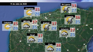 Foto de Pronóstico del tiempo en Yucatán para el sábado 11 de julio