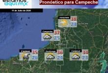 Foto de Pronóstico del tiempo en Campeche  para el sábado 11 de julio