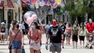 Foto de Walt Disney World reabre sus puertas durante repunte de contagios por COVID-19 en Florida, EU