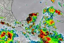 Foto de Tormentas, viento y hasta granizo por la onda tropical no.25