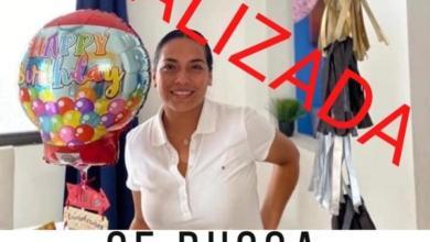 Foto de Aparece la señora Cecilia Bautista Olivares