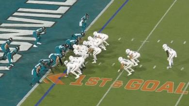 Foto de Los Dolphins escapan de Jacksonville con su primer triunfo del año
