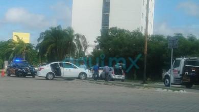 Foto de Dama extranjera ocasiona accidente en Altabrisa