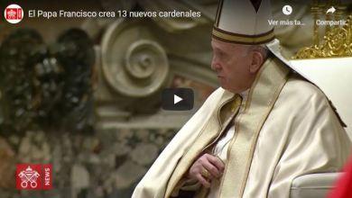 Foto de Francisco a Cardenales: Estar vigilantes para permanecer en el camino de Jesús
