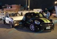 Foto de Dama al volante ocasiona accidente en circuito colonias
