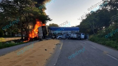 Foto de Mortal accidente en la Escárcega – Villahermosa