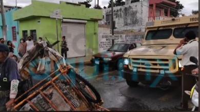 Foto de Camión de Cometra atropella a ancianos