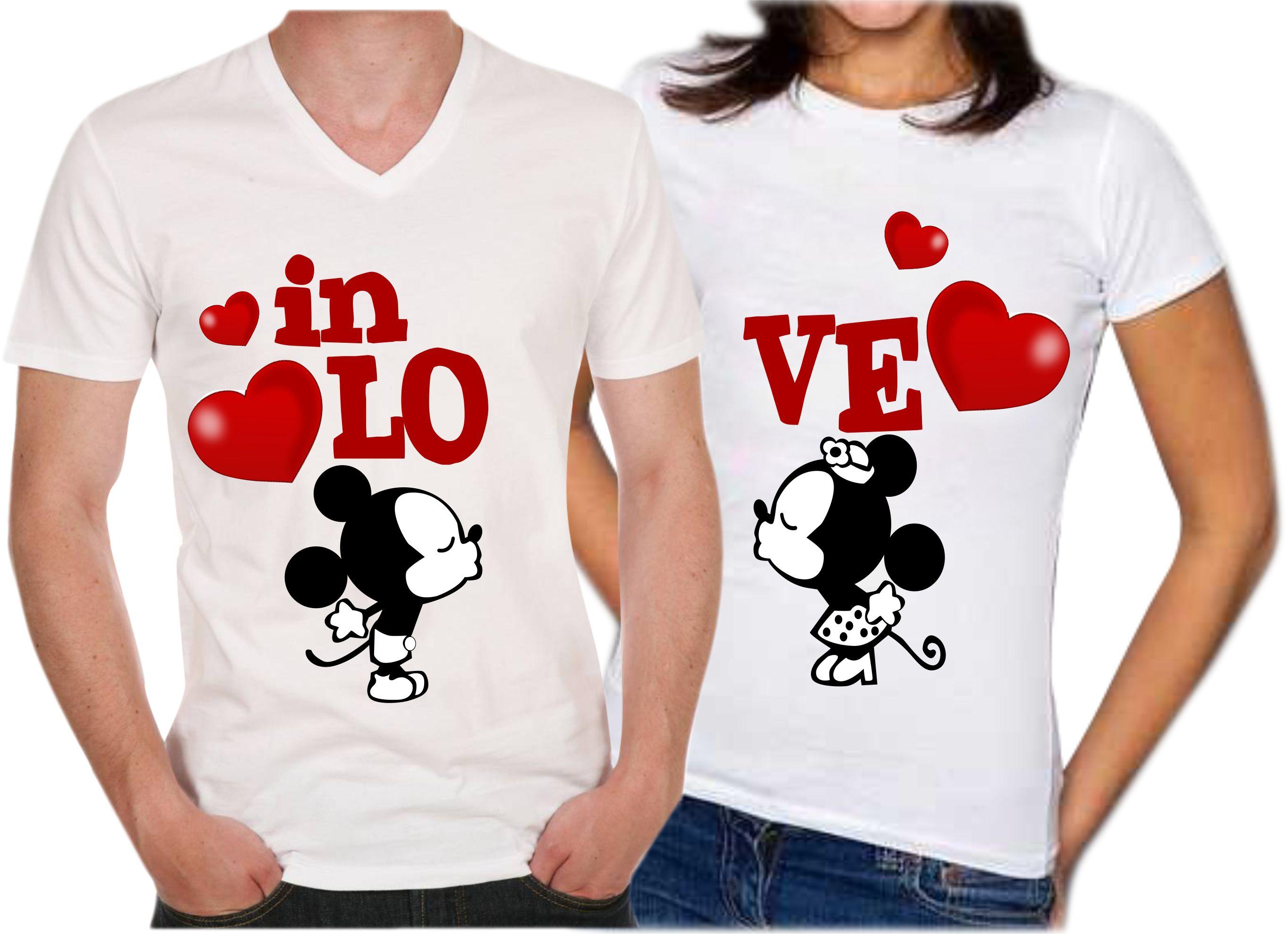 ahorre hasta 80% tienda del reino unido detallado Camisetas Para Parejas in love
