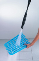 Estantes plásticos de fácil limpieza