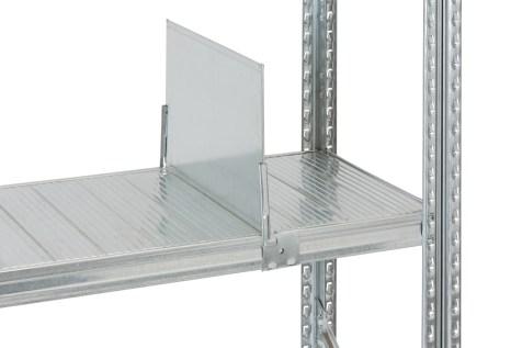 Accesorio separador estantería metálica