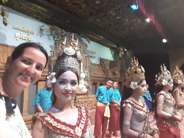 Upsara dancers