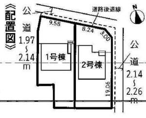 木曽川町黒田第7 配置図