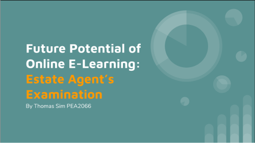 E-Learning Solution to EA's Examination