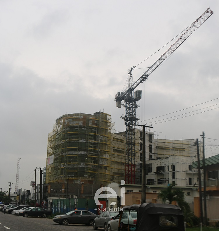 June 2019. Development: White Orchid House, Adetokunbo Ademola Street, Victoria Island - Lagos. Image Source: CCP