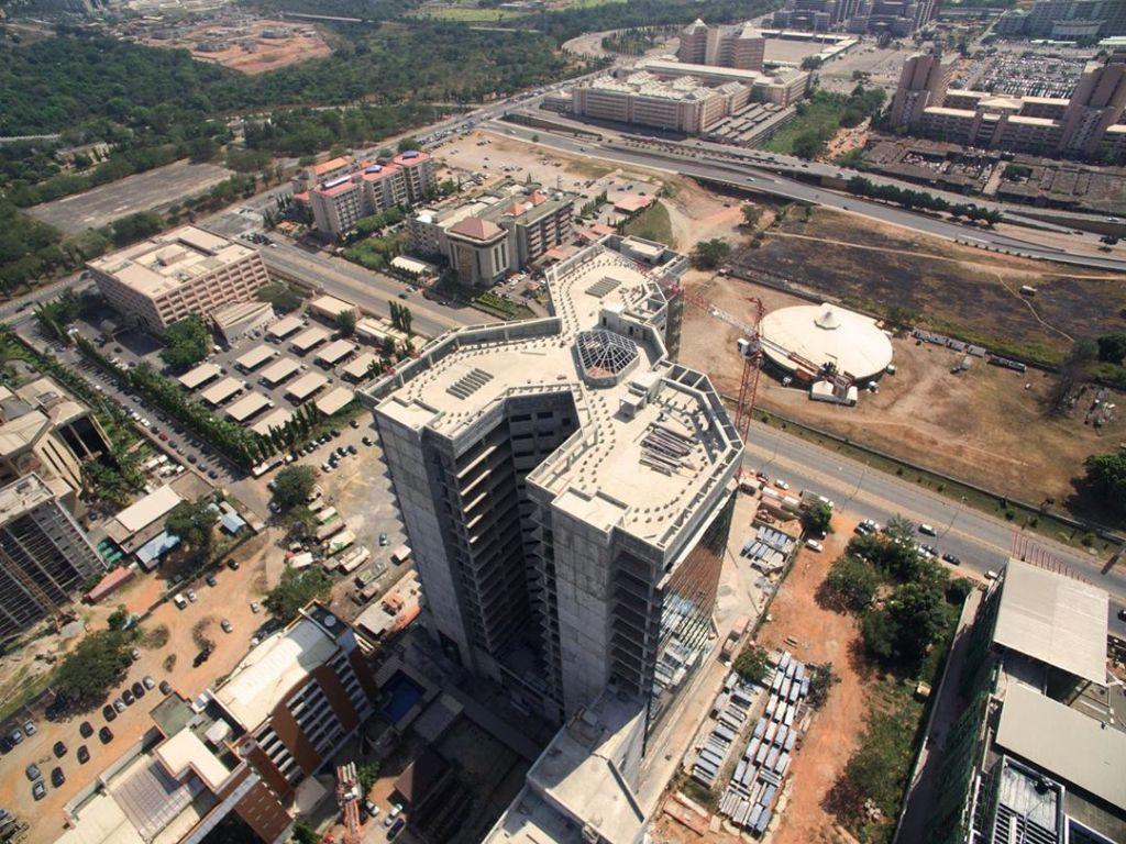 March 2019. Development: Federal Inland Revenue Service Headquarters, Central Business District – Abuja. Image Source: ATO Architects
