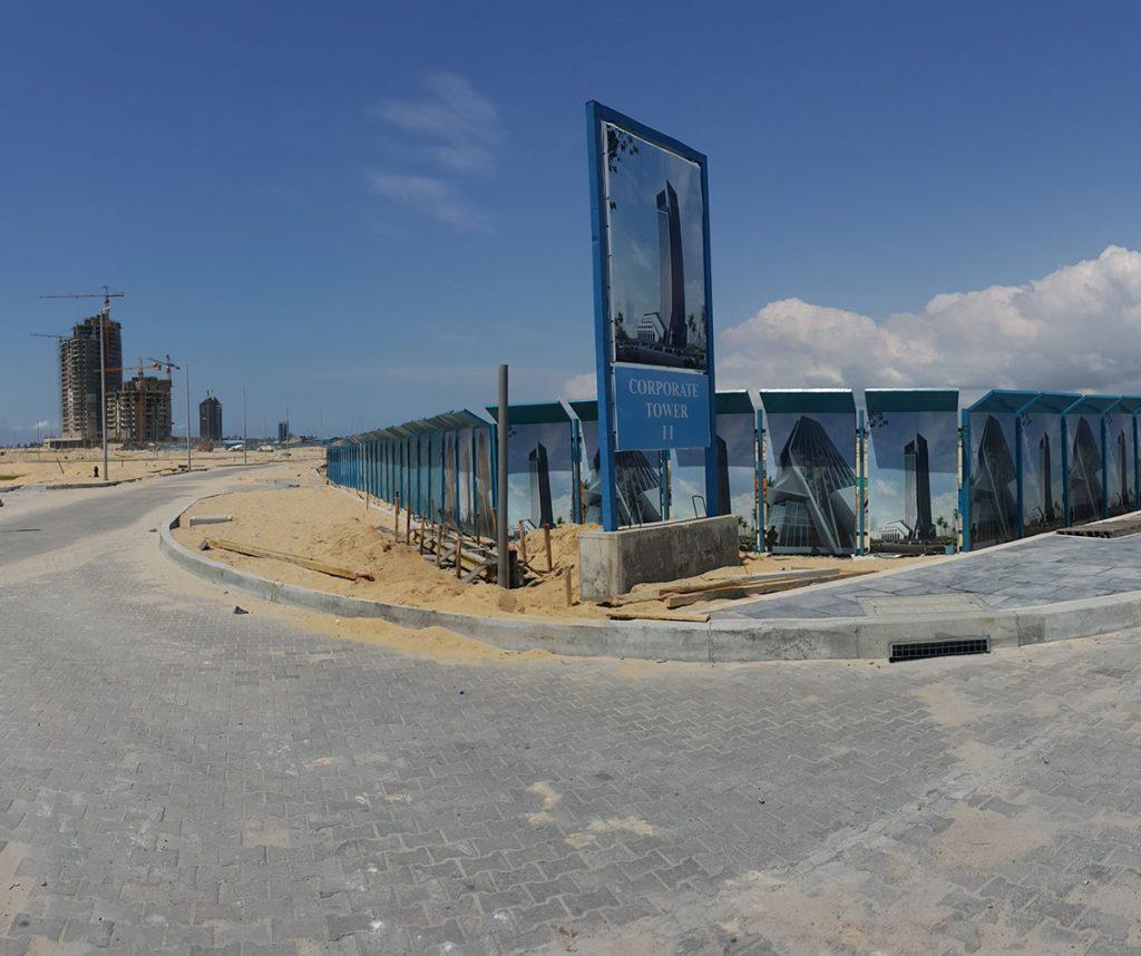January 2016. Updated - Development: The Corporate Tower, Eko Atlantic City, Lagos. Image Source: Nairaland