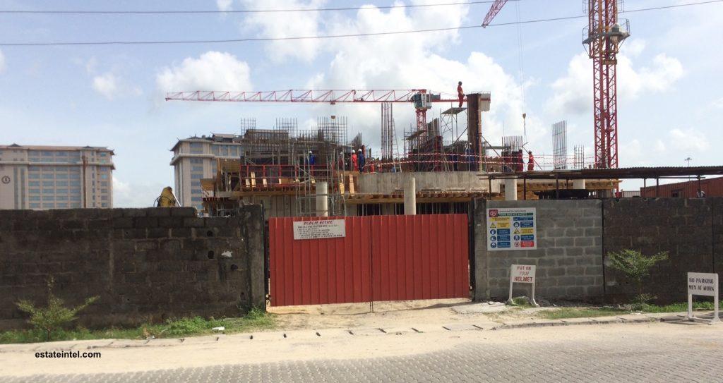 May 2016. Diamond Bank, High Rise Development, Victoria Island Annex/Oniru. April 2016.