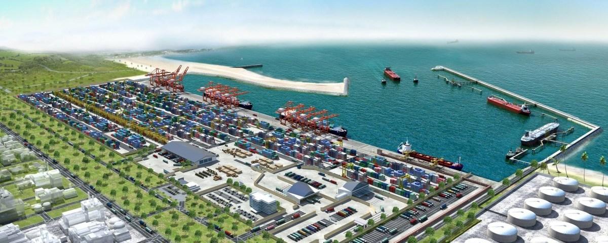 Lekki Deep Sea Port. Artist Impression 4. Image source: lekkiport.com