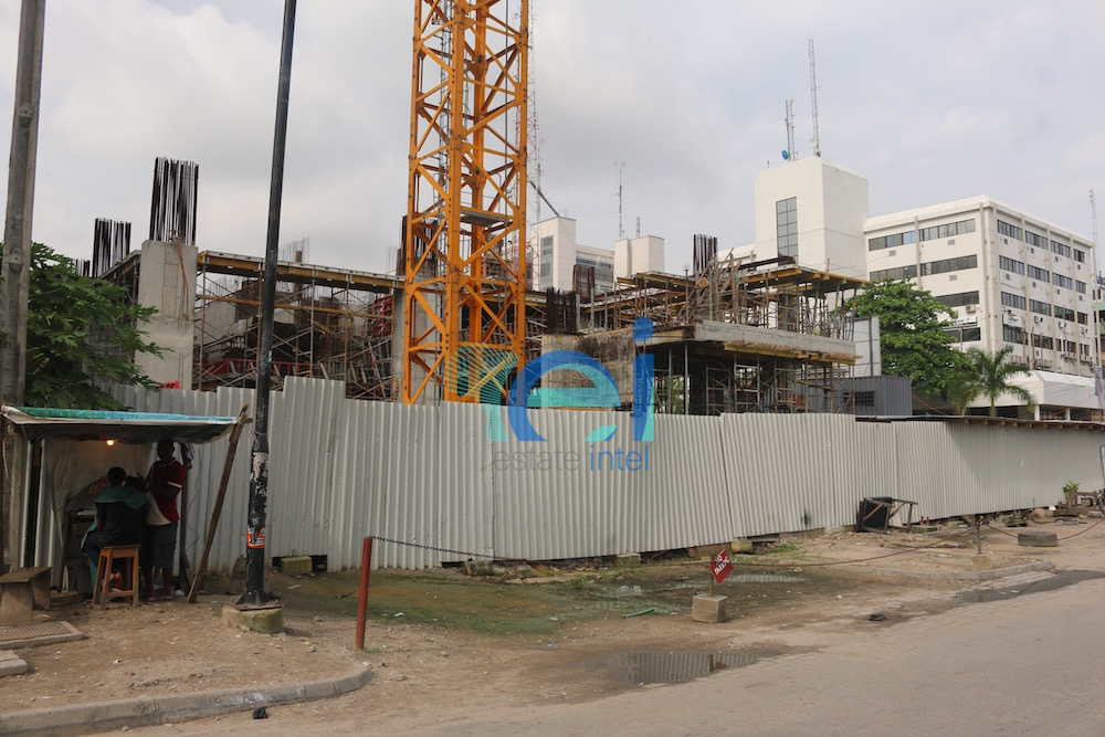 Development: Greystone Tower, Idowu Taylor Street, Victoria Island - Lagos. Developed by Platform Petroleum. October 2016