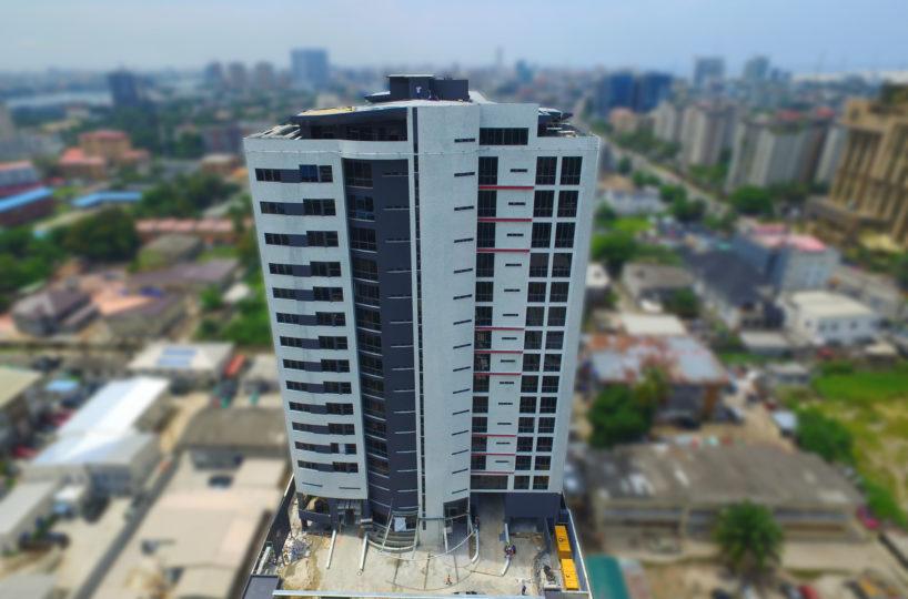 Development: Eden Heights, Victoria Island - Lagos. Image Source: Cortts