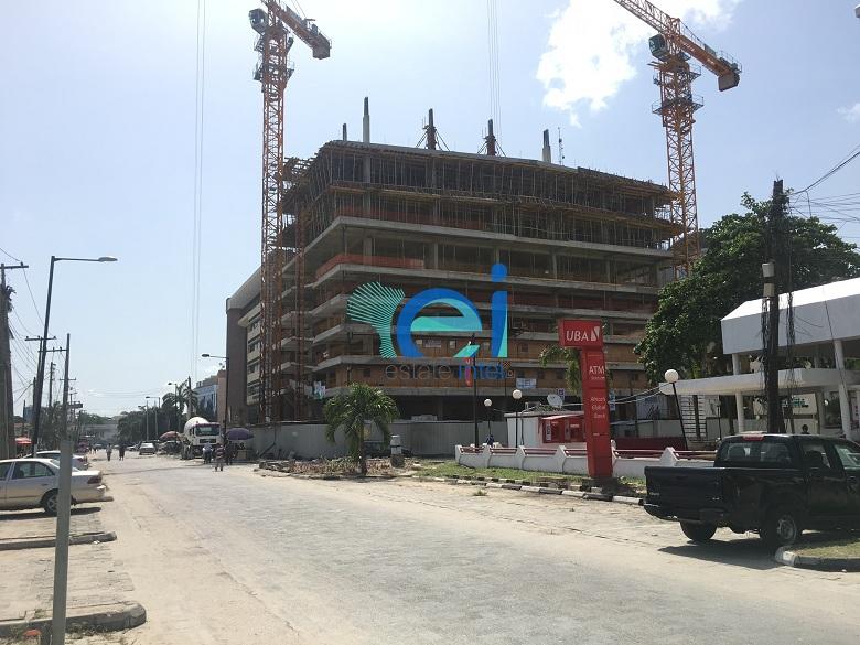 April 2017. Development: Greystone Tower, Idowu Taylor Street, Victoria Island - Lagos. Developed by Platform Petroleum.