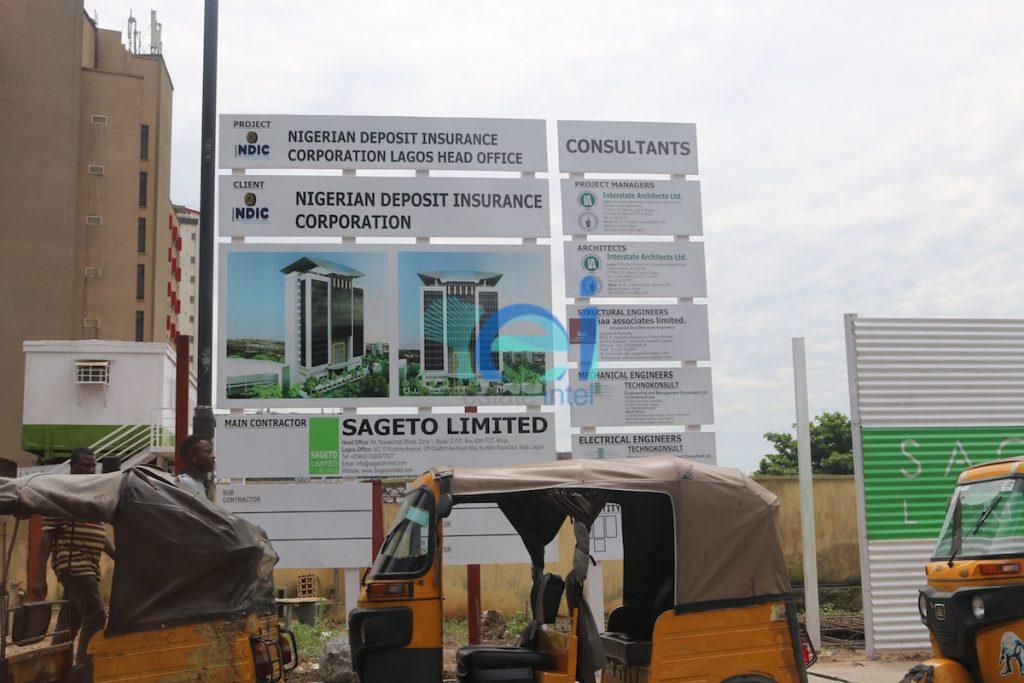 Development: NDIC Head Office, Glover Road, Ikoyi - Lagos.