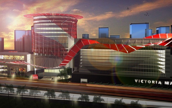 Development: Victoria Mall Plaza 3, Victoria Island - Lagos. Image Source: UPDC