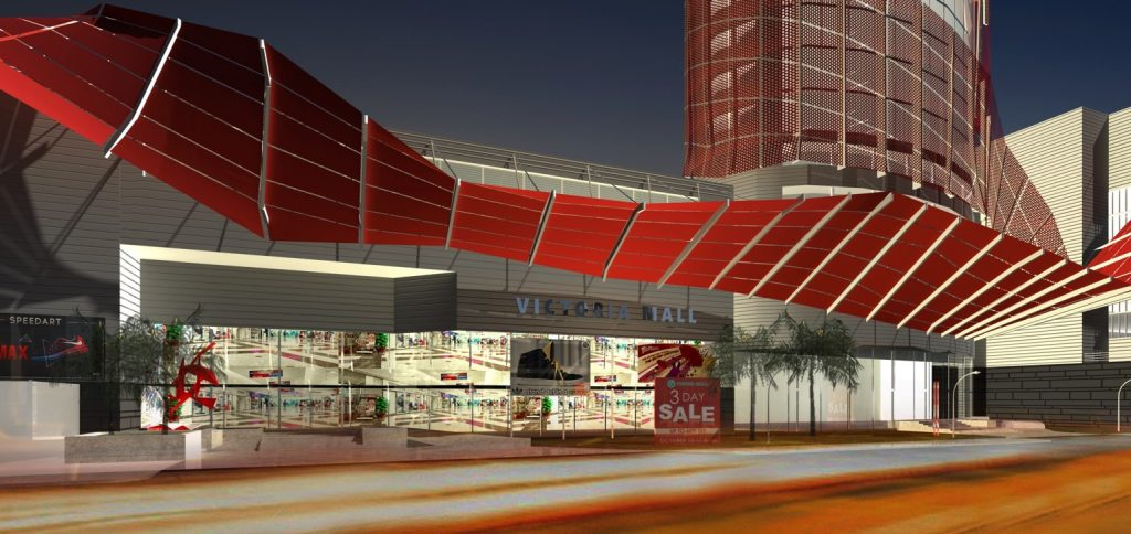 Development: Victoria Mall Plaza 3, Victoria Island - Lagos. Image Source: UPDC