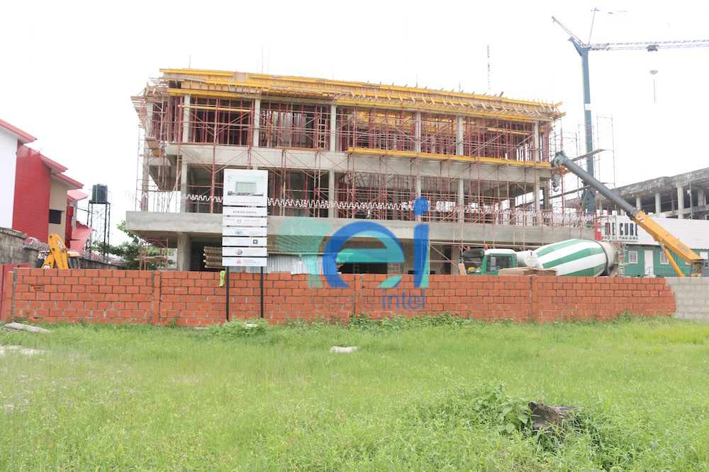 October 2016. Development: GTBank Lekki Phase 1, Lekki - Lagos.